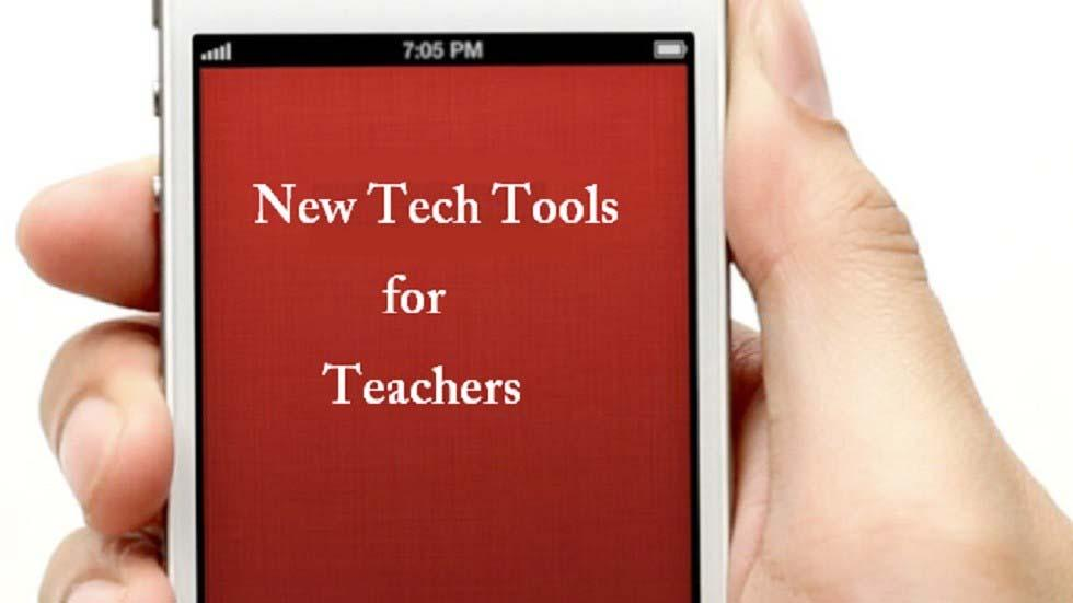 5 New Tech Tools That Teachers Must Explore