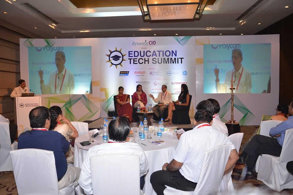Education Tech Summit 2013, India - Teach, Learn and Grow with IT