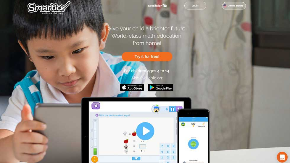 Smartick: Smart Way for Children to Learn Mathematics