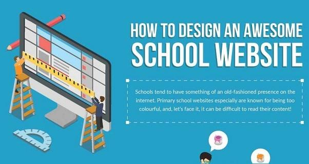 [Infographic] School Website Design Tips for School Leaders