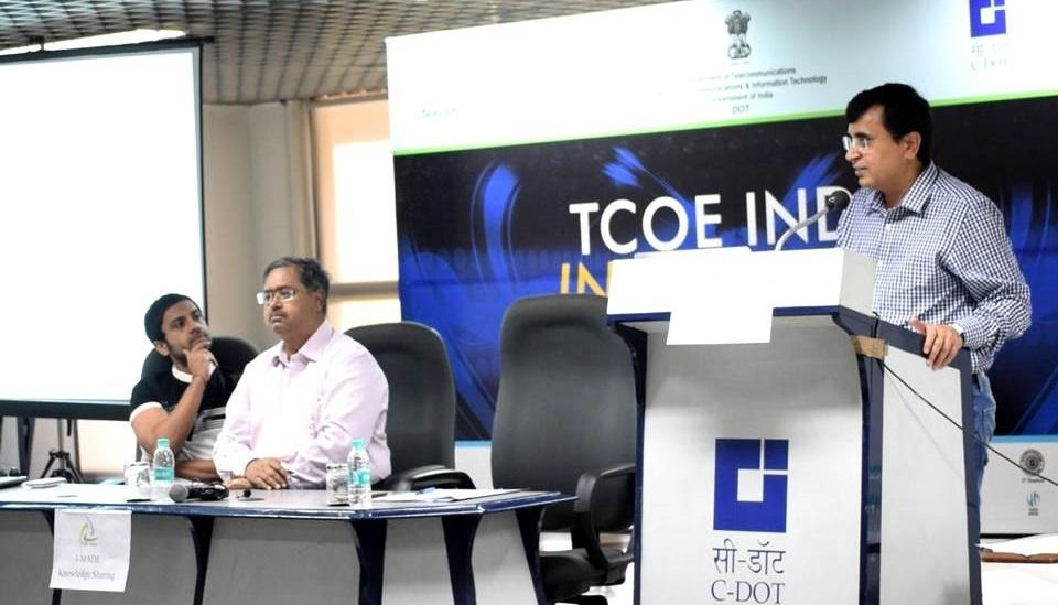 I-MADE App-a-Thon Kick Started by Mr. N. SIvasailam, Additional Secretary, Department of Telecommunications (DoT)