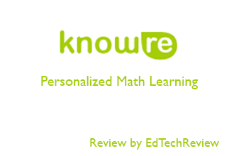 KnowRe - Personalized Math Learning