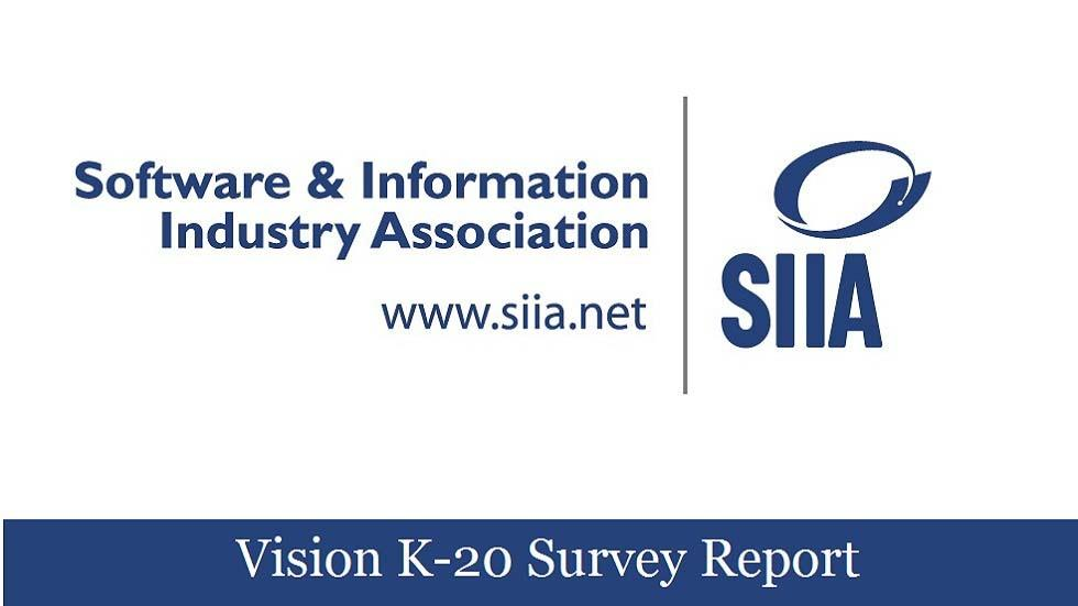 SIIA Releases 2014 Vision K-20 Survey Report