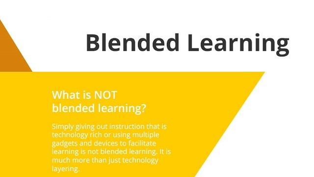 [Infographic] Definition of Blended Learning