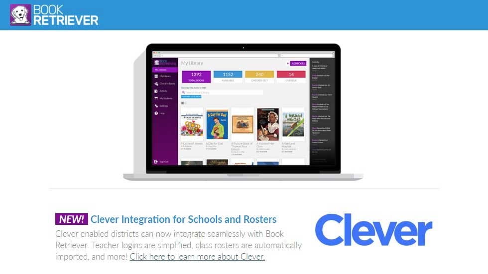 Book Retriever and Clever Partner to Support Classroom Libraries and Reading Programs
