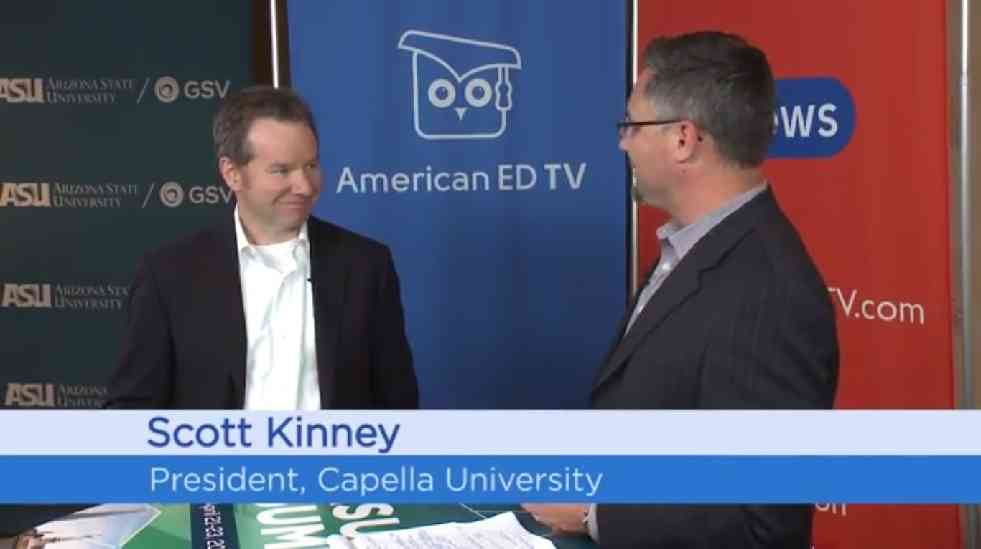 Capella U. Prez Talks Reality of Online Learning