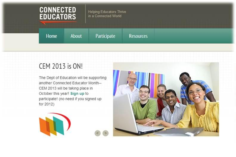 Connected Educators Month (CEM)- Helping Educators Thrive in a Connected World
