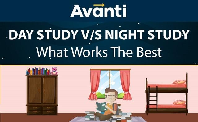 [Infographic] Day Study vs Night Study: What Works Best