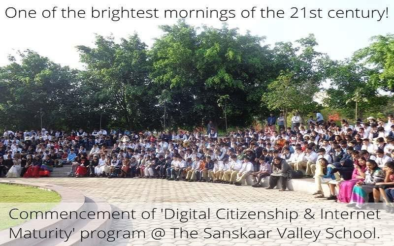 Sanskaar Valley Takes Lead to Make Students Internet Mature