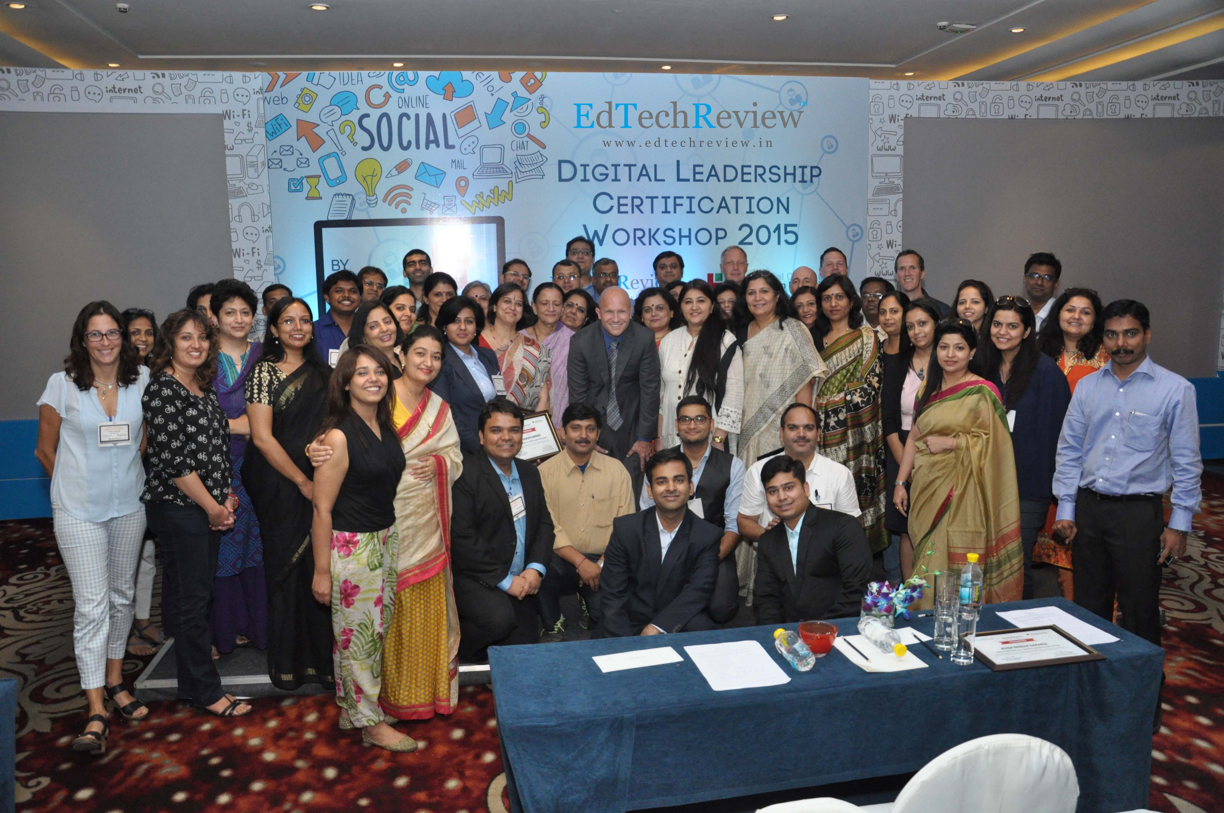 "EdTechReview Trained & Certified the First Batch of ""Digital Leaders in Education"""