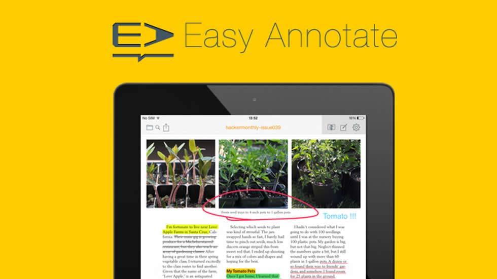 Easy Annotate - Easy and Fun App to Work with PDF's