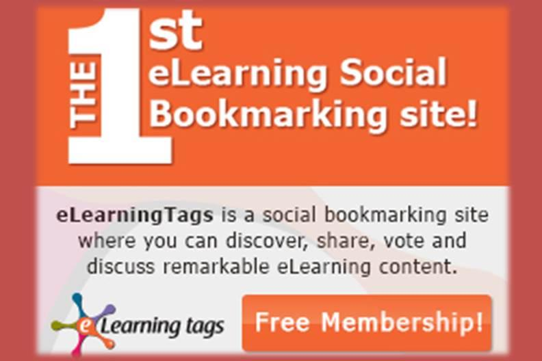 eLearningTags.com - Social Bookmarking Site for E-Learning Professionals