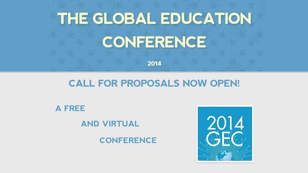 GlobalEdCon 2014 - Call for Proposals Open Until November 1st