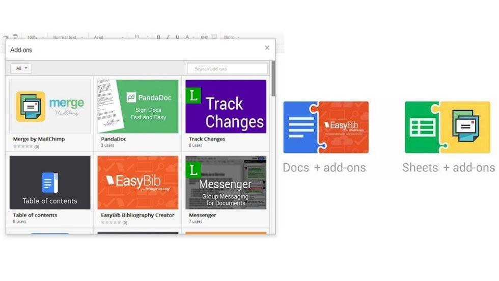 Great Add-ons Empowering Google Drive