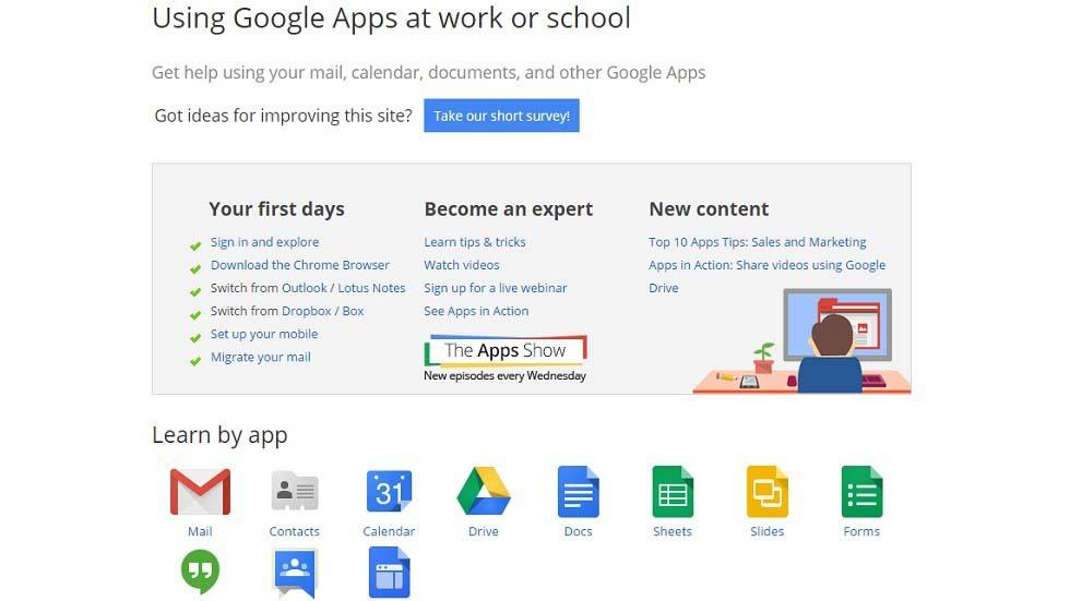 Google Apps as LMS and PLE