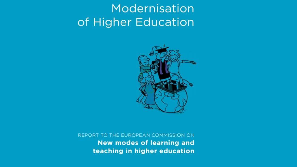 Harnessing New Modes of Learning and Teaching to Modernise Higher Education