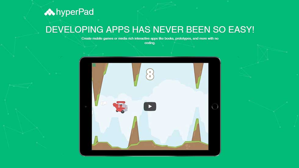 Developing Apps Made Easy for Students with hyperPad