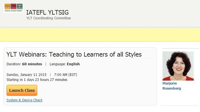Identifying Learners of All Styles: Webinar by Marjorie Rosenberg