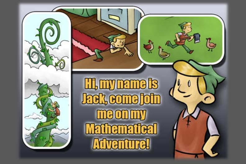 Jack and the Beanstalk - A Mathematical Adventure for Kids