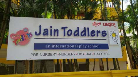 JAIN Toddlers - A Center of Excellence for Pre School Education
