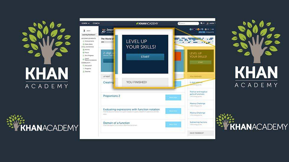 Khan Academy's New Learning Dashboard