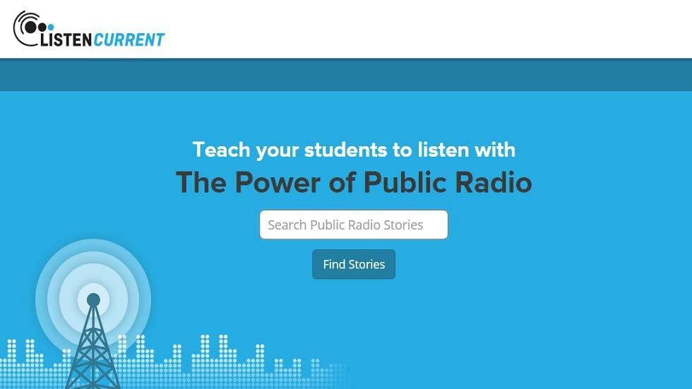 Listen Current, which Brings the Power of Public Radio to the Classroom, Announces $950,000 in Seed Funding