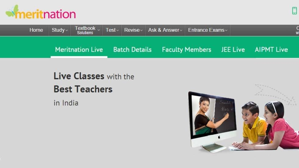 Meritnation Raises $4 million from Info Edge to Boost its Rapidly Growing Live Classes Platform