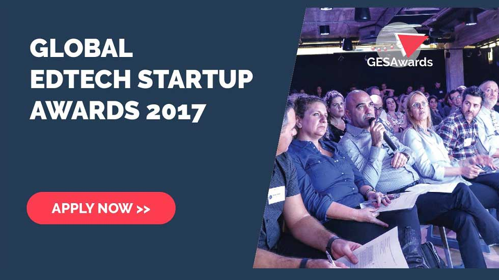 Applied for GESA 2017 - World's Largest EdTech Startup Competition?