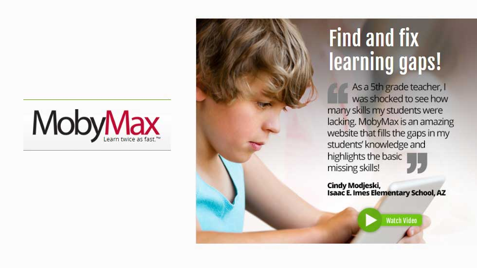 Get All the Learning Needs Fulfilled with MobyMax