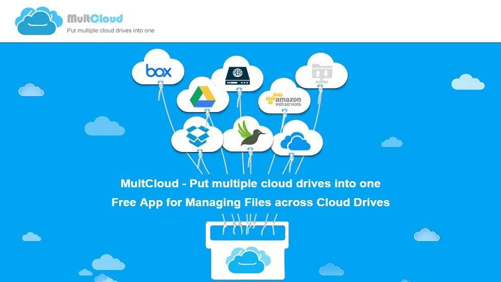 Free App for Managing Files across Multiple Cloud Drives