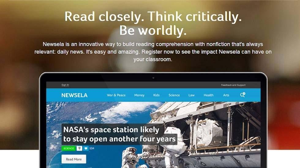 Newsela an Innovative Teaching Tool for Smart Teachers