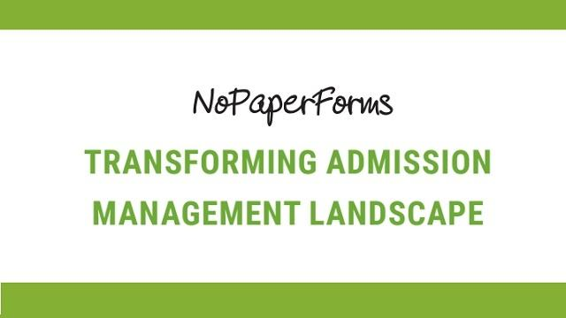 Careers360 to Spin Off NoPaperForms