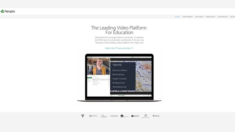 The One Stop Solution To Video Enabled Teaching: Panopto