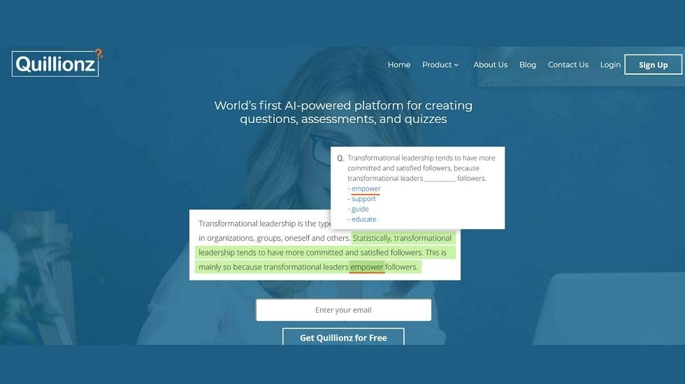 Quillionz, the Much-Awaited AI-Powered Question-Creation Platform is Unveiled