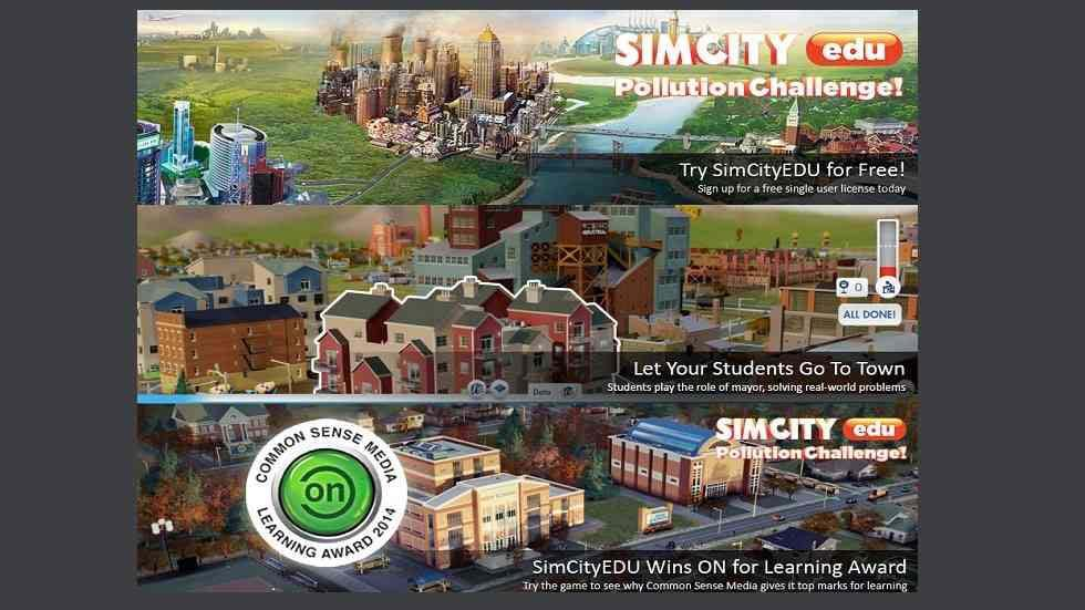 How is SimCityEDU Different from Other Learning Games?