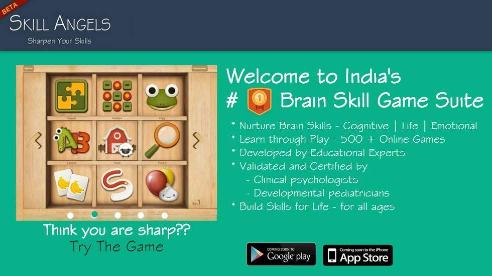 SkillAngels: Perfect Brain Skill Game Suite