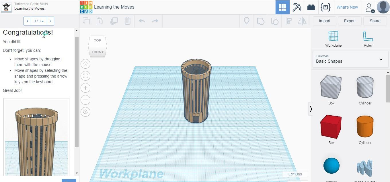 Tinkercad - A Simple Yet Powerful Online 3D Design & 3D Printing App for Teachers & Students!