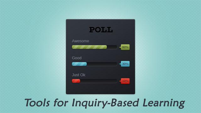 Check out How These Tools Embrace Inquiry-based Learning