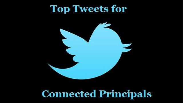 Tweets of the Week for Connected Principals