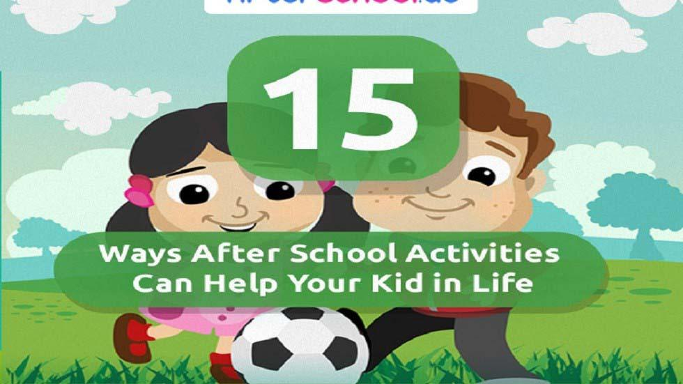 [Infographic] Benefits of After School Activities on Kids' Life