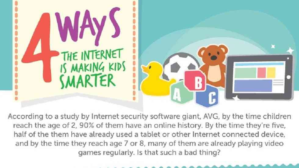 [Infographic] How is Internet Making Kids Smarter?