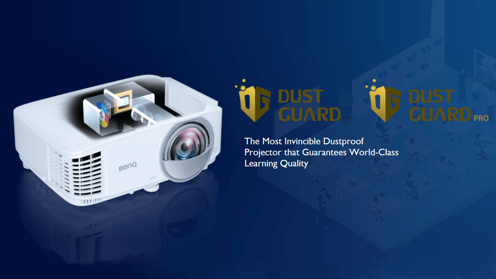 Keeping Your Classroom Always Up and Running With Dustproof Projectors