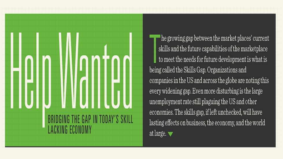 [Infographic] The Reasons for and Impact of the Skills Gap