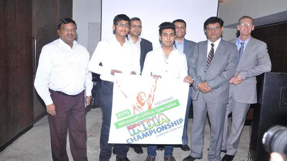 Certiport Announces 2015 Microsoft Office Specialist India Championship