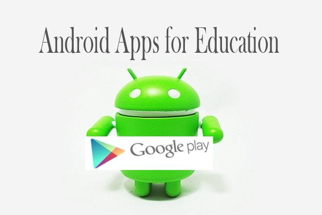 18 Android Apps for Education