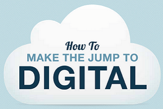 making digital jump infographic
