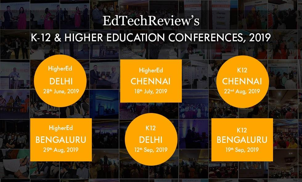EdTechReview's K-12 Conferences Series, 2019