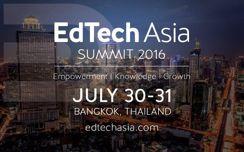 EdTech Asia Summit to Highlight Regional  Education Focused Startups  and Investors