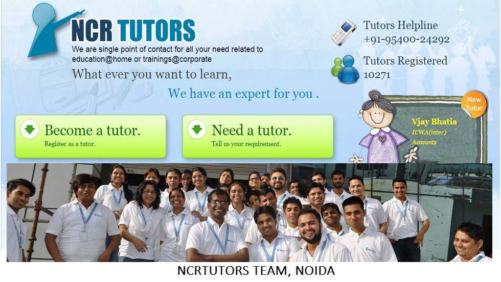 World Class Tutoring Made Accessible and Affordable by NCRTutors