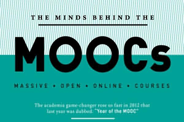 [Infographic] The Minds Behind The MOOCs